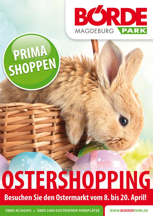 Ostershopping