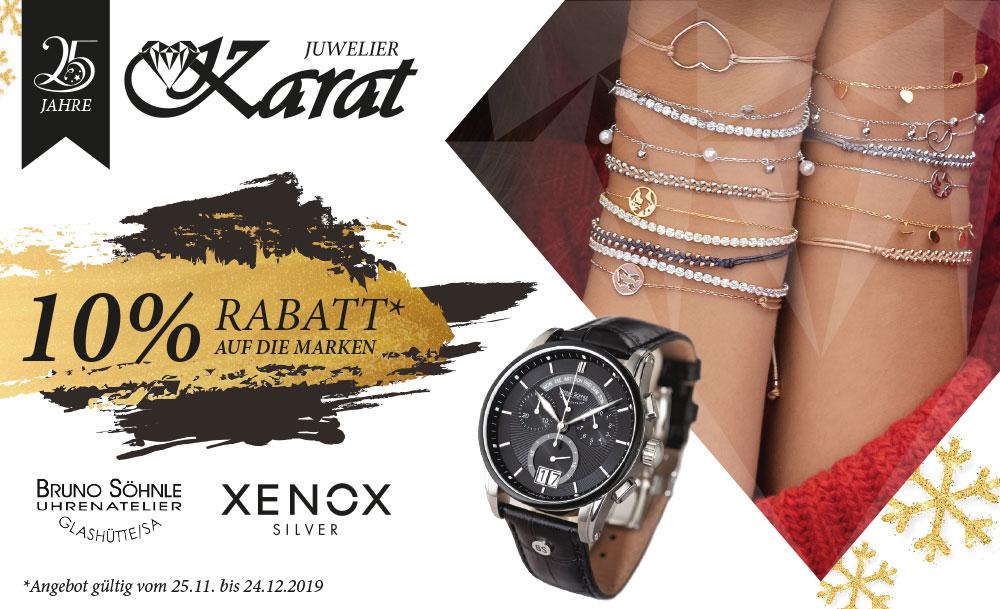 Juwelier Karat 25Jahre Angebot Dezember 2019